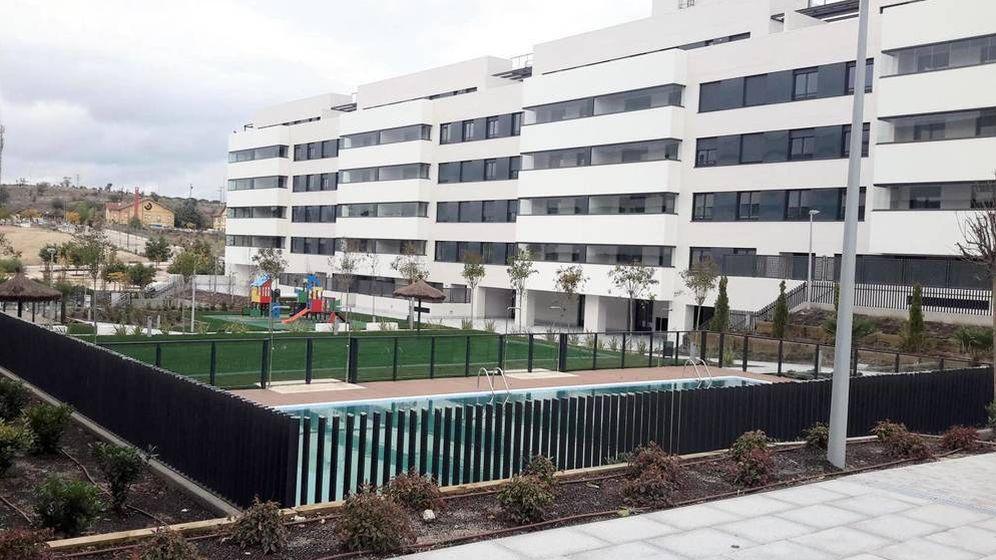 Foto: Promoción de viviendas en Arroyo del Fresno, Madrid. (Foto: E. S.)