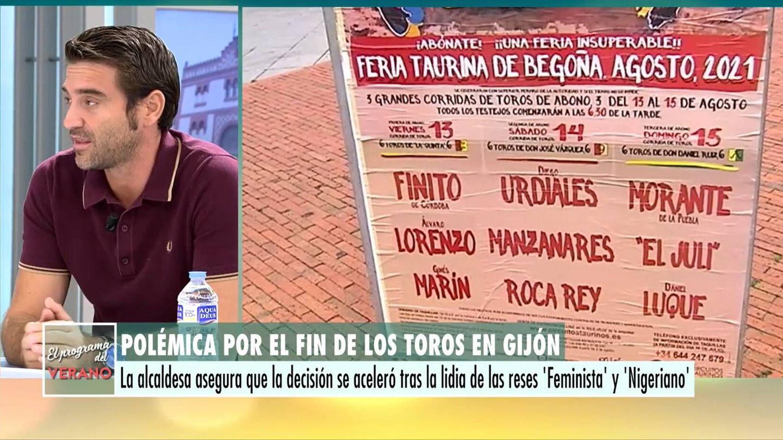 Javier Negre, en 'El programa del verano'. (Mediaset)