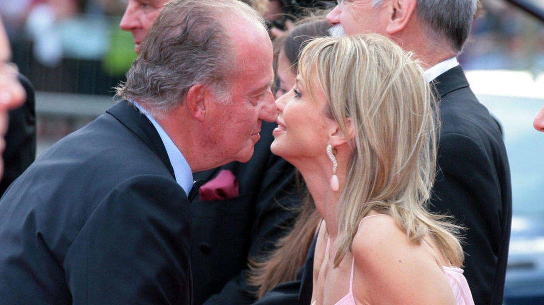 Corinna y Don Juan Carlos en una imagen de archivo. (Gtres)