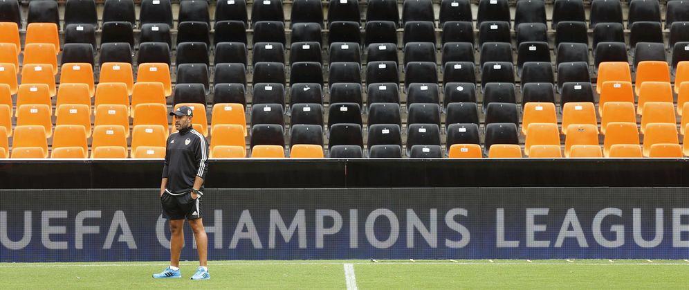 0c53a5cc3c89e El Valencia recibe al Mónaco en el partido de ida de la eliminatoria previa  a la fase de grupos de la Champions. Lo hace sin Otamendi