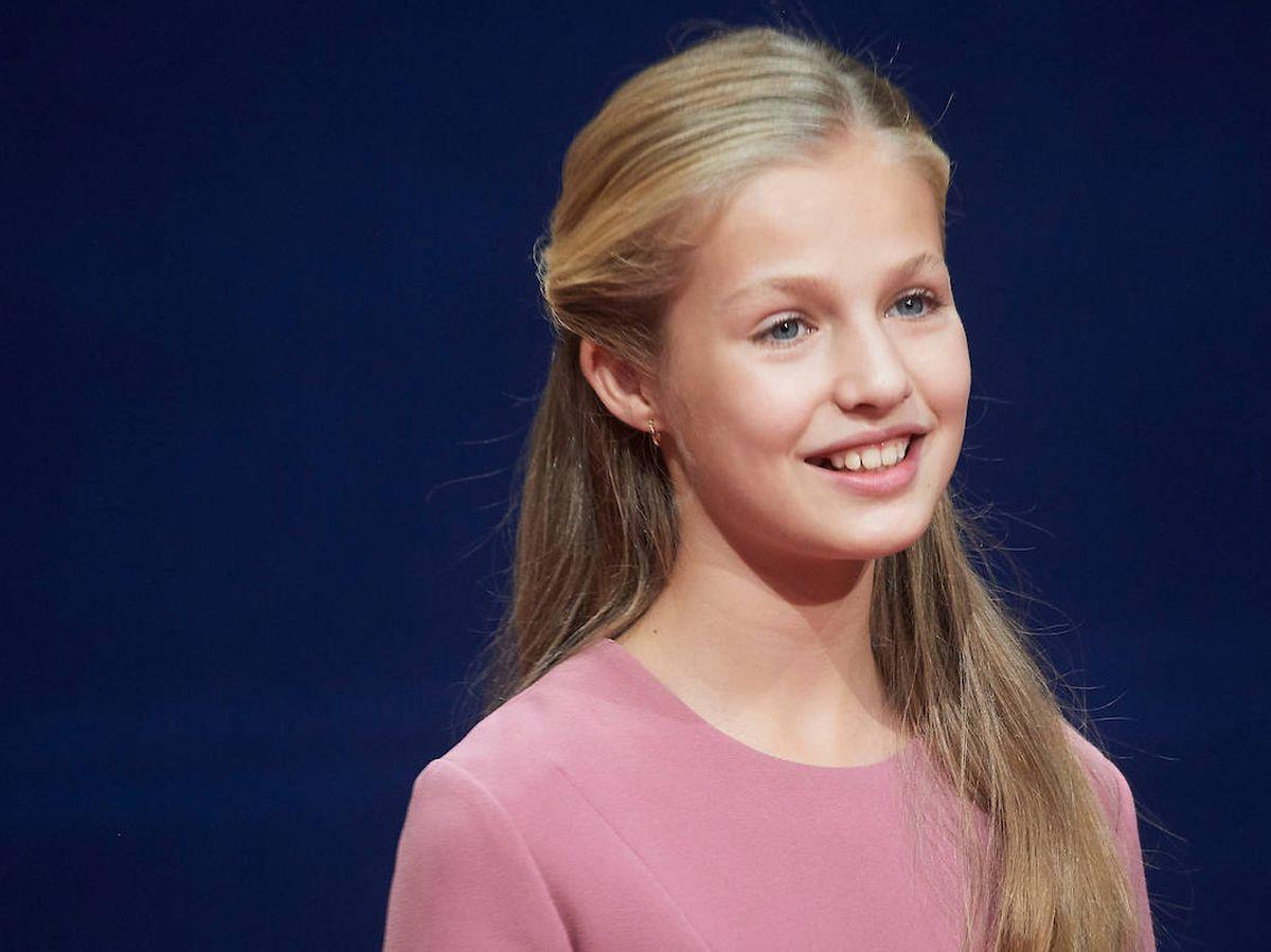 Foto: La princesa Leonor, en los Premios Princesa de Asturias de 2019. (Limited Pictures)