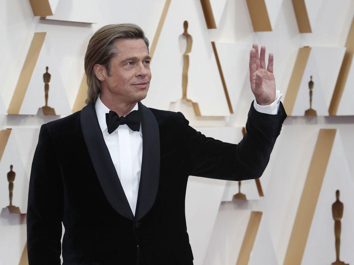 Foto: Brad Pitt, en la alfombra roja de los Oscar. (Reuters)