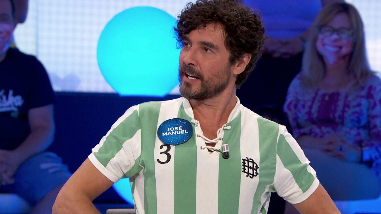 José Manuel Seda, bético en 'Pasapalabra'. (Atresmedia)