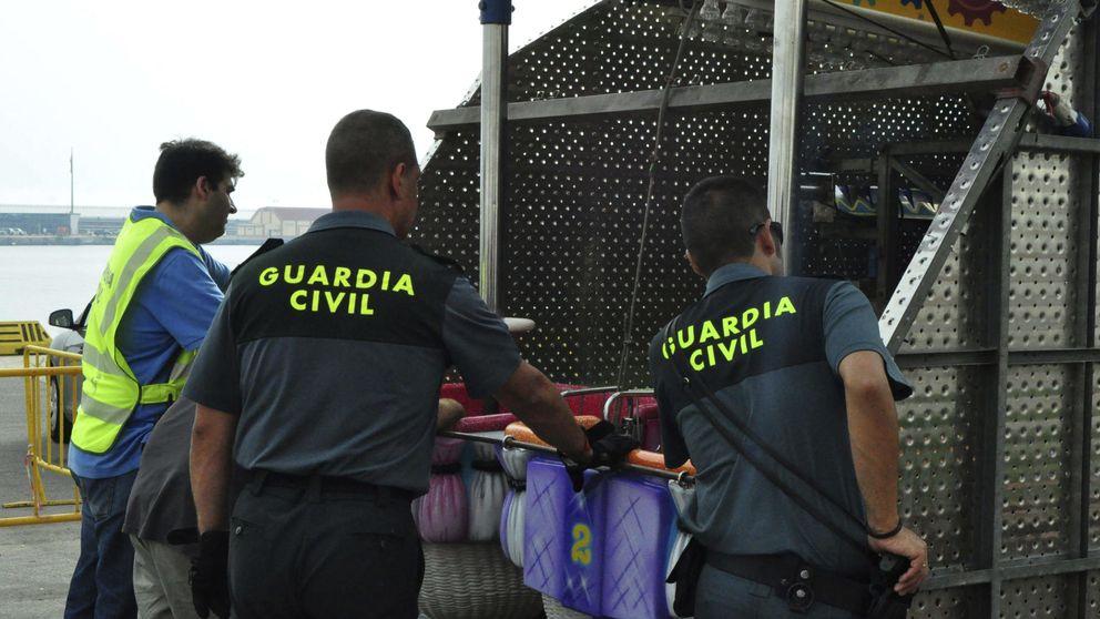 Intervienen 4.733 kilos hachís y detienen a cuatro personas en Ceuta