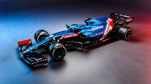 Alpine presenta el espectacular A521, aunque con la extraña ausencia de Fernando Alonso