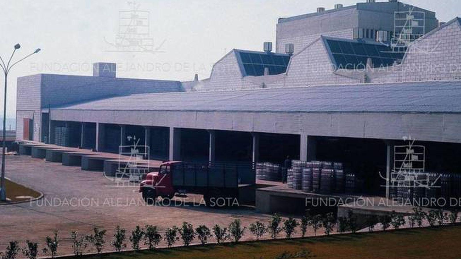 Foto: Vista de la fábrica de Clesa. (Fundación Alejandro de la Sota)