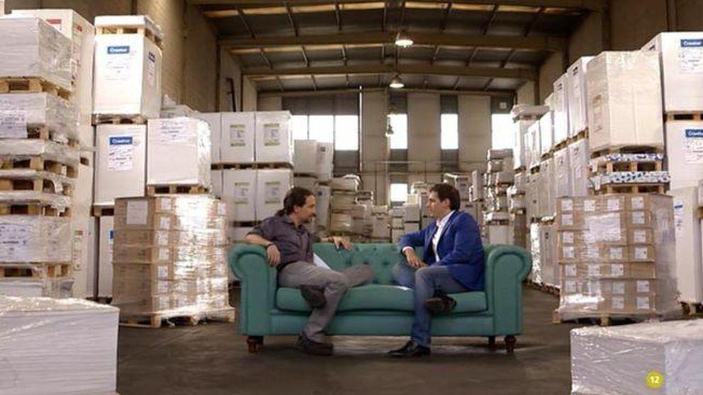 Pablo Iglesias y Albert Rivera, cara a cara en 'Viajando con Chester'