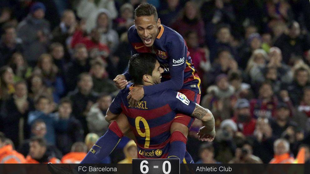 Para un partido entero contra 10 jugadores no hace falta ni Messi