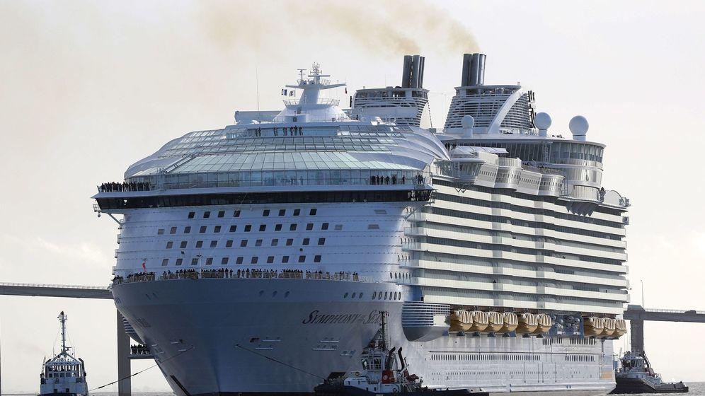 Foto: El crucero Symphony of the Seas. (Reuters)