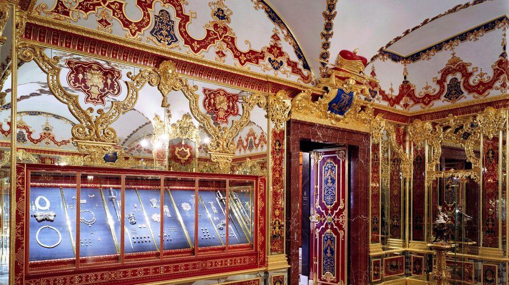 Foto: Algunas de las colecciones robadas en Dresde. (Reuters)