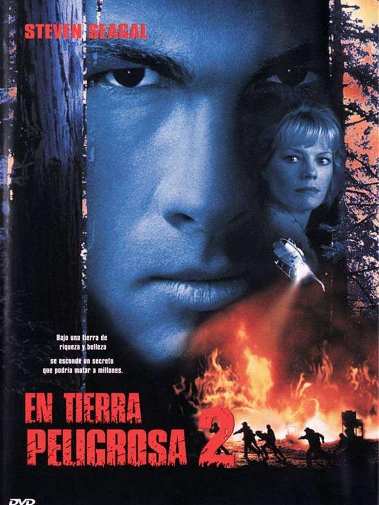 Cartel de la película 'En tierra peligrosa'.