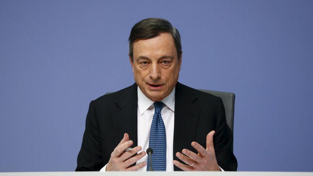 Foto: Foto de archivo del presidente del BCE, Mario Draghi. (Reuters)