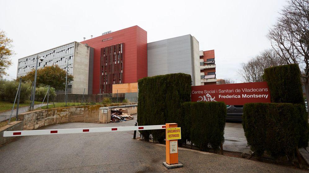 Foto: El centro sociosanitario Frederica Montseny de Viladecans, donde se han producido contagios por coronavirus. (EFE)