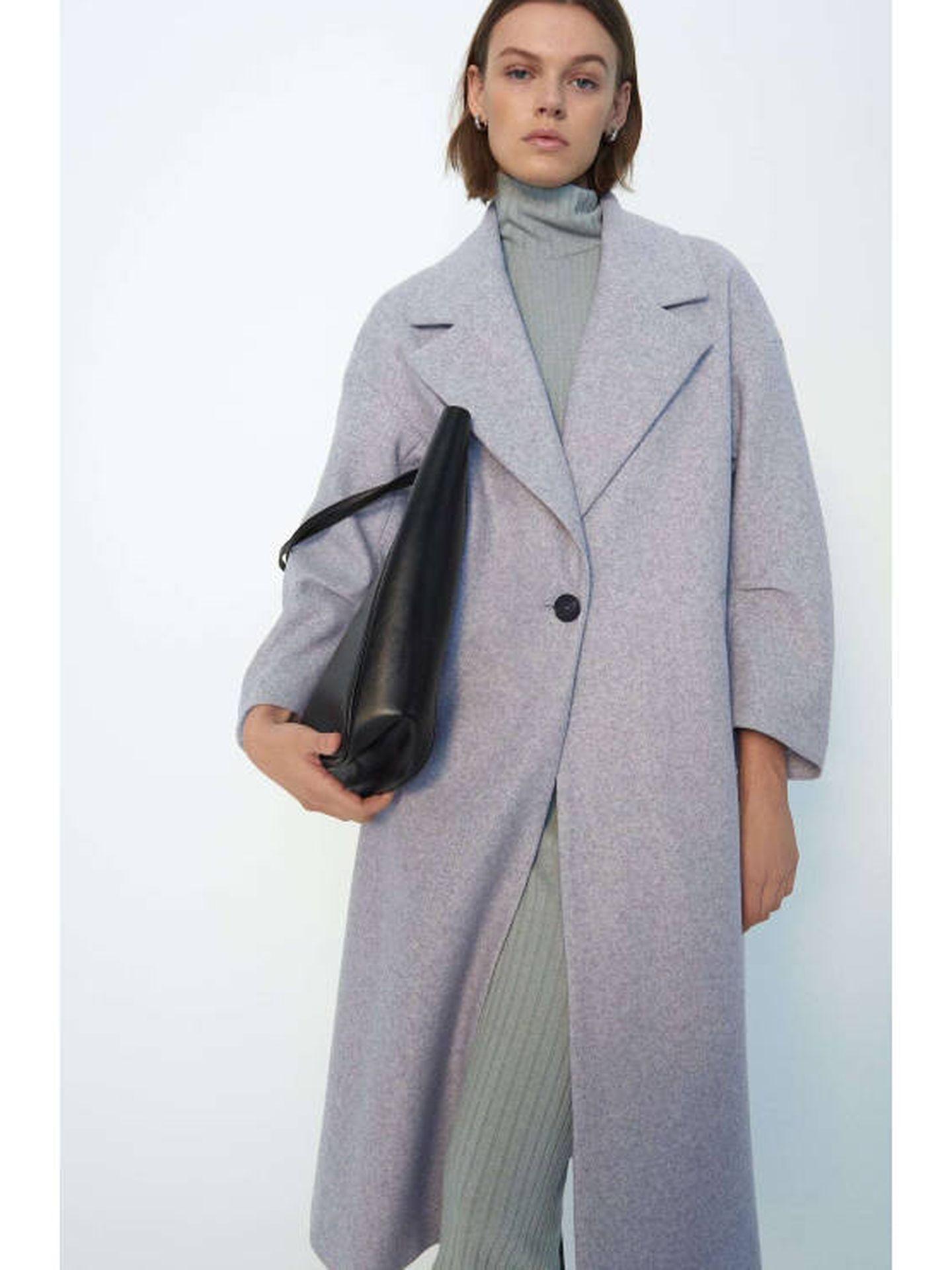 El abrigo de Zara. (Cortesía)