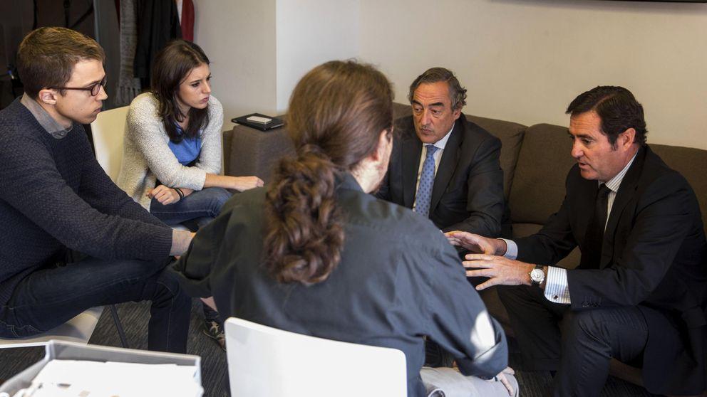 Meses de cafés secretos en el Congreso: así negoció Iglesias con Garamendi sobre el SMI