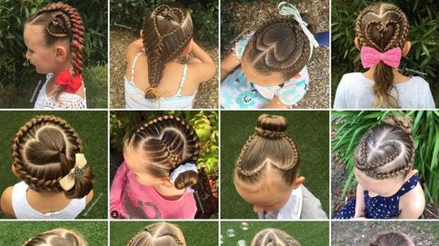Shelley Gifford, la 'artista de las trenzas' que crea peinados únicos para su hija