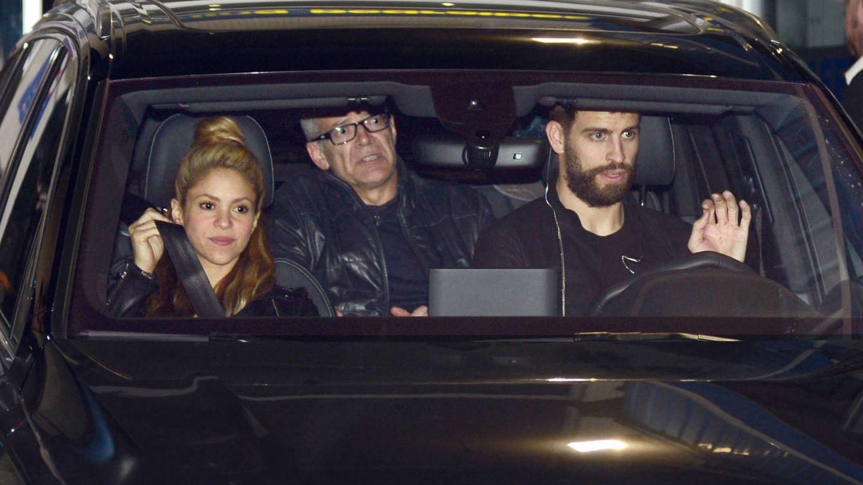 Shakira y Piqué en una imagen de archivo. (Gtres)