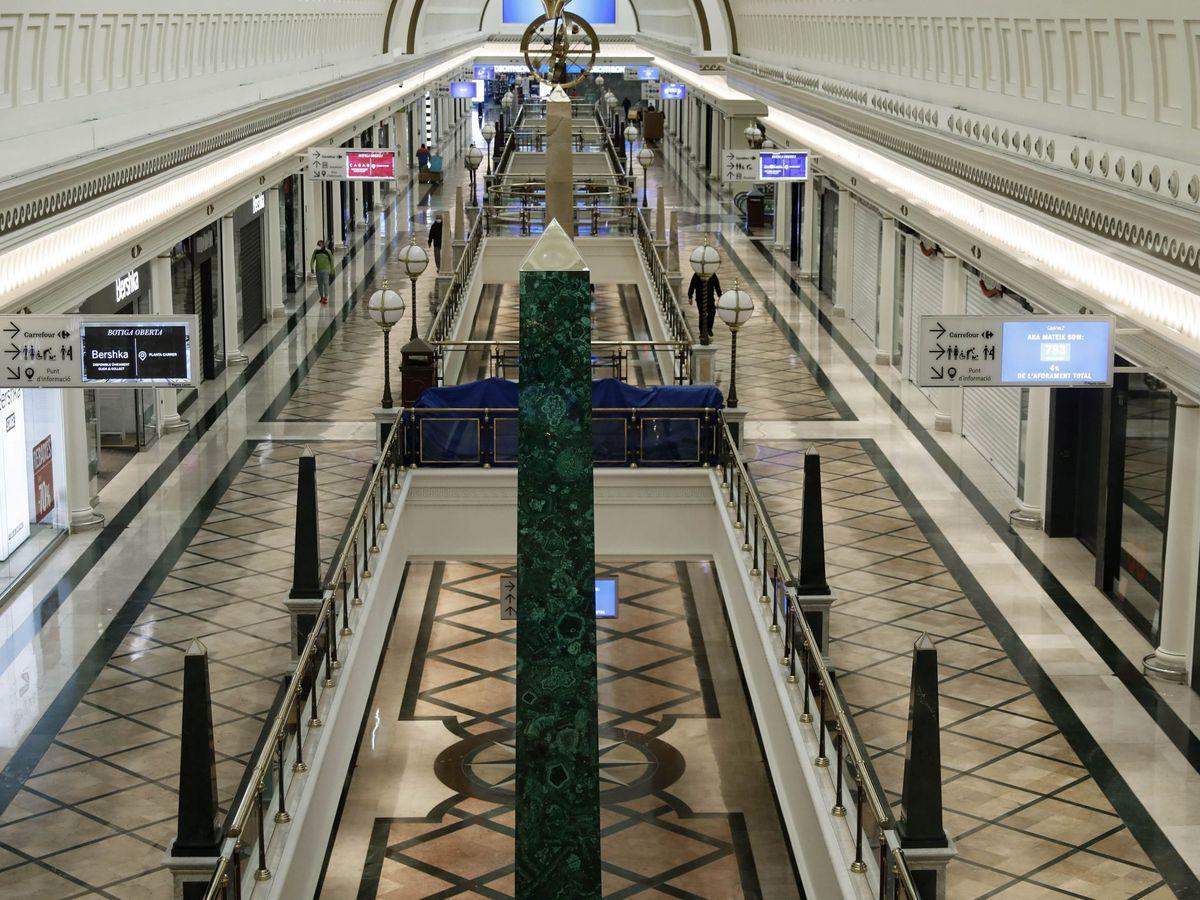 Foto: Vista del centro comercial de Gran Vía 2 en Hospitalet de Llobregat (Barcelona). (EFE)