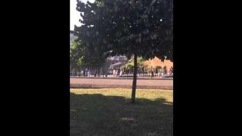 La pelea entre ultras de Atlético y Oviedo: Sin cuchillos, sólo puños