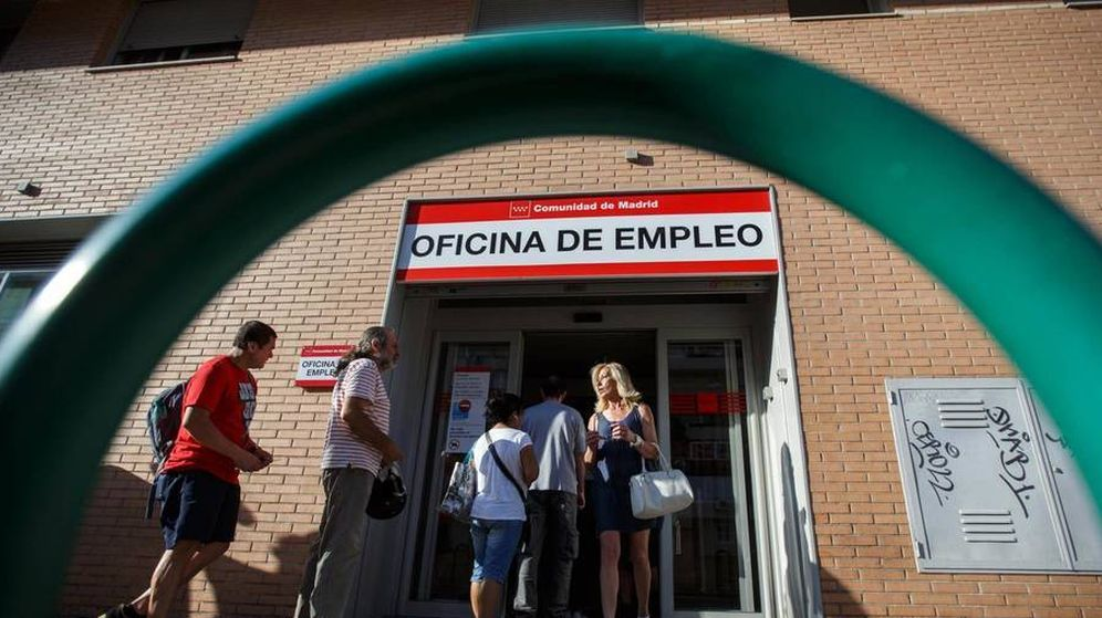 Foto: Fotografía de archivo de una oficina de empleo. (Reuters)
