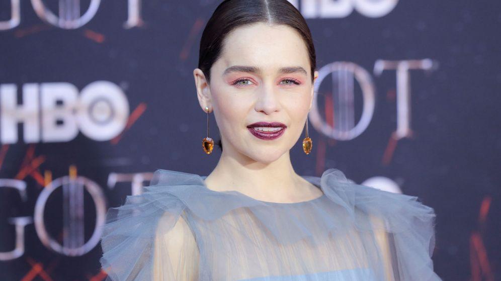 Foto: Emilia Clarke, en la premiere de 'Juego de Tronos' en Nueva York. (Reuters)