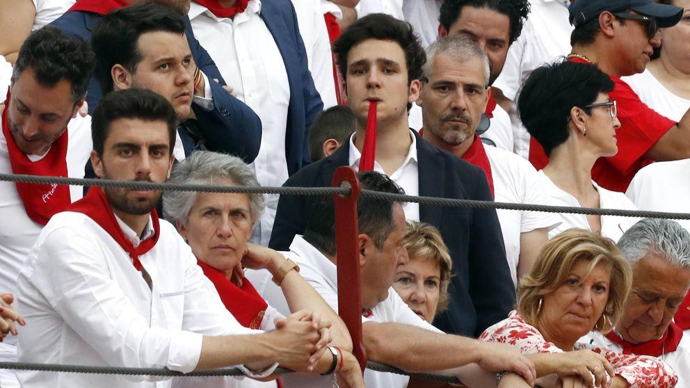 Froilán da la nota con su look en San Fermín
