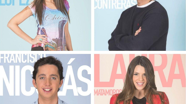 Nominados: Carmen López, Julián Contreras, el 'Pequeño Nicolás' y Laura Matamoros.