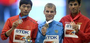 Post de Miguel Ángel López, del bronce a la plata en el Mundial 2013 por dopaje de un atleta ruso