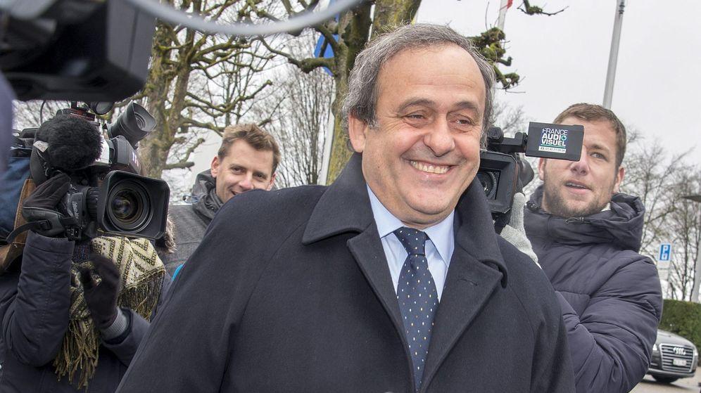 Foto: Platini apela contra la inhabilitación de ocho años de la FIFA (EFE).