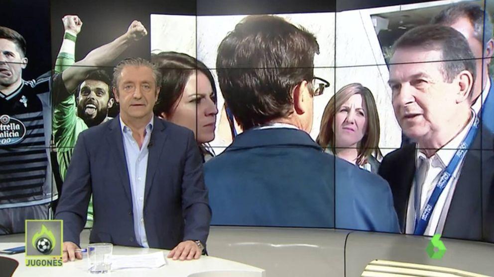 Pésame de Josep Pedrerol tras la muerte de una compañera de 'Jugones'