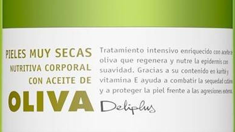 Crema de aceite de Oliva Deliplus. (Mercadona)