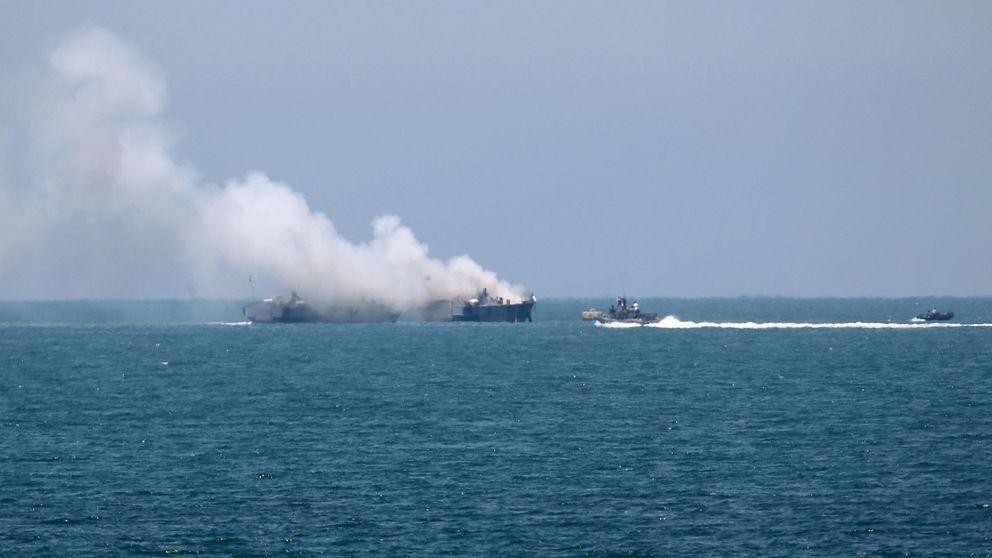 El Estado Islámico ha destruido un barco egipcio en el Mediterráneo