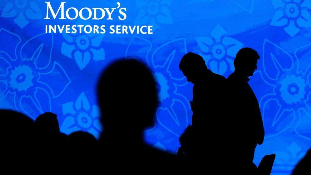 Foto: Rueda de prensa de Moody's. (EFE)