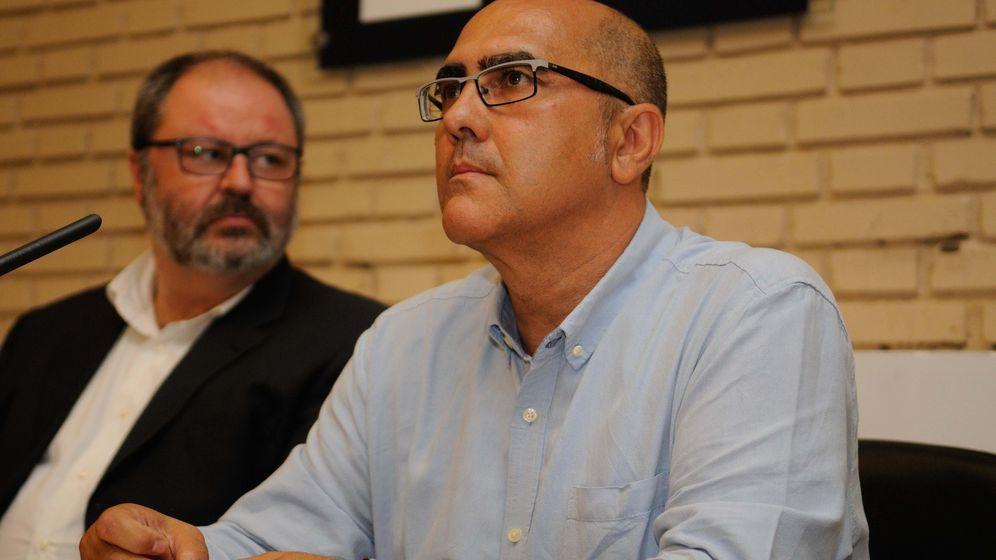 Foto: Andrés Serrano (d), nuevo director de la Policía Municipal de Madrid. (Ayuntamiento de Madrid)