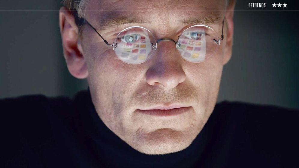 Foto: Michael Fassbender en 'Steve Jobs'