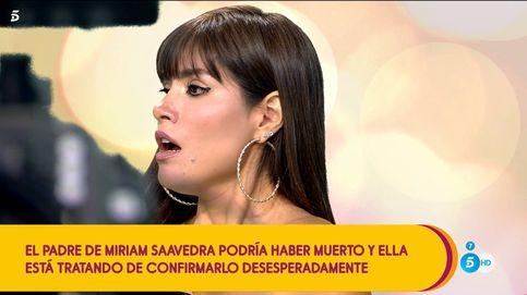 Angustia en 'Sálvame': le dicen a Miriam Saavedra que su padre ha muerto