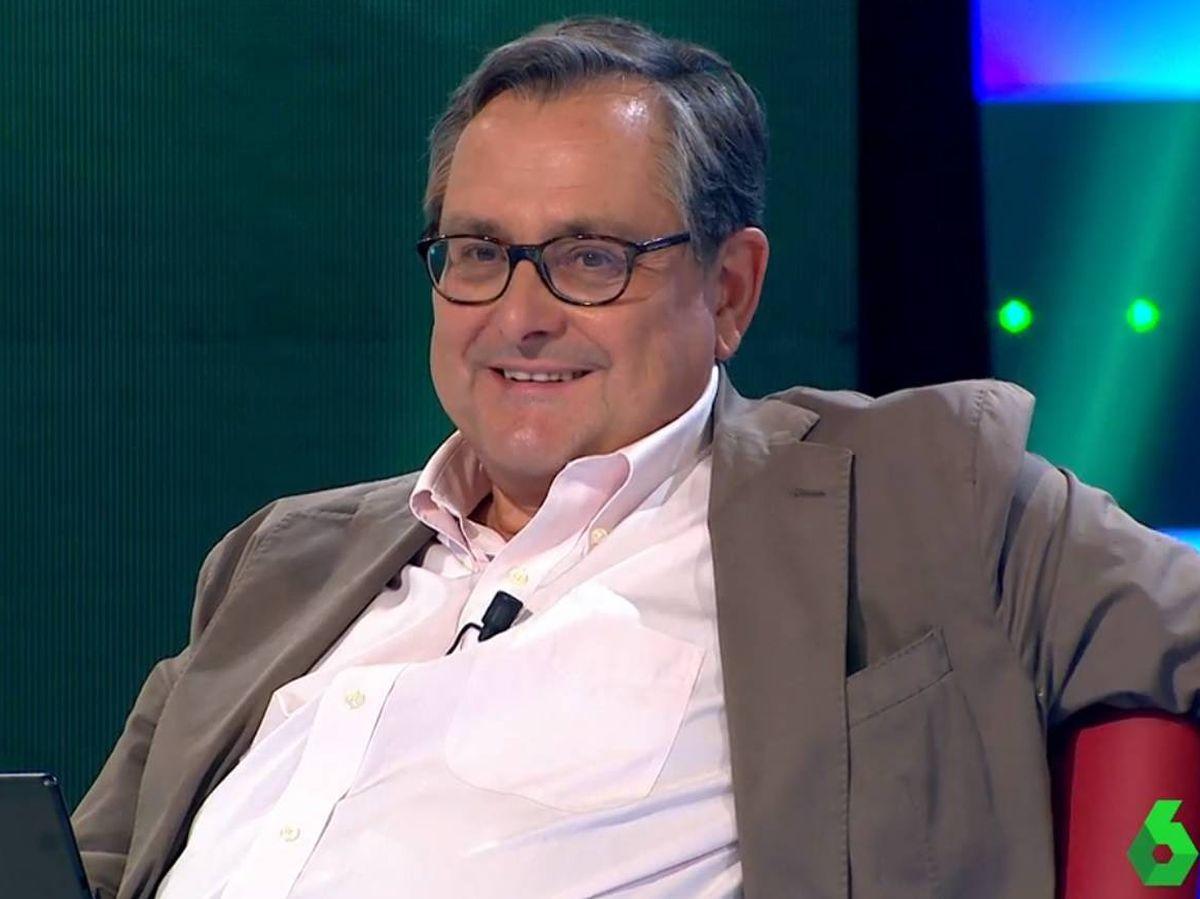 Foto: Francisco Marhuenda, en 'La Sexta noche'. (Atresmedia).