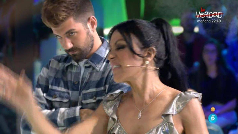 Maite Galdeano, en 'Supervivientes 2018'. (Telecinco)