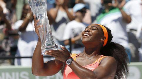 Serena Williams pasa por encima de una Carla Suárez irreconocible