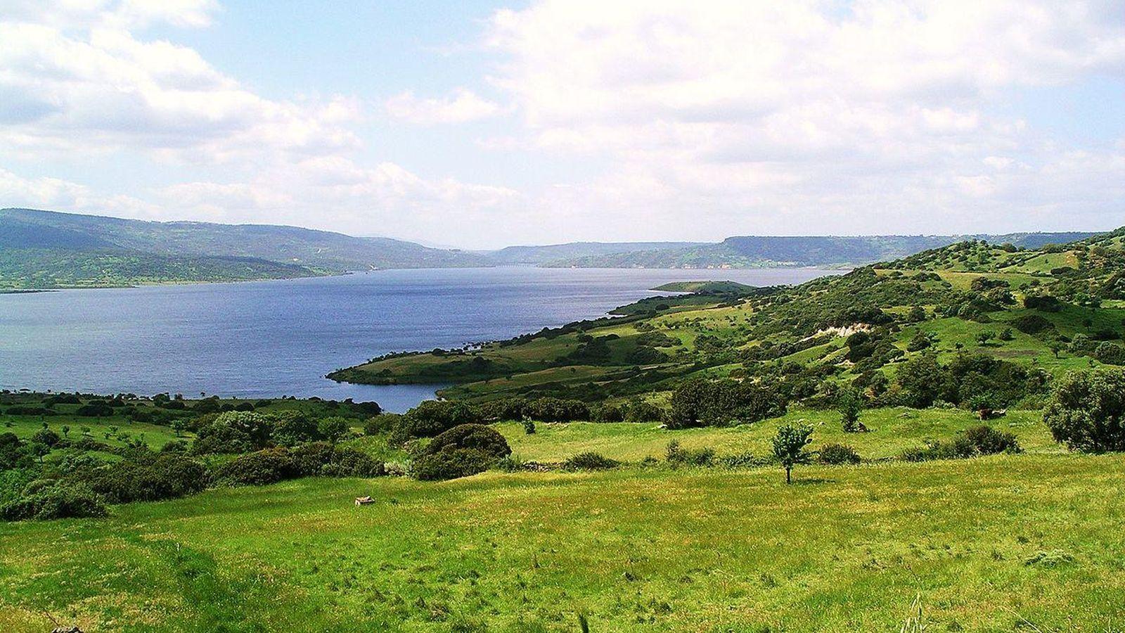 Foto: El lago Omodeo es la reserva natural más grande de Italia. (CC/Max.oppo)