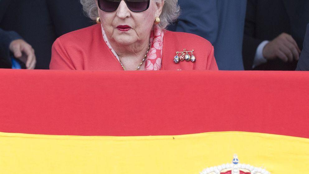 La firma de Pilar de Borbón, en el documento de su sociedad 'offshore'