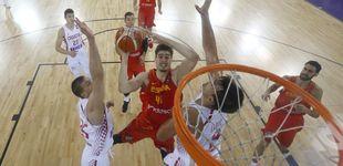 Post de La energía de Juancho Hernangómez enciende a España en el EuroBasket