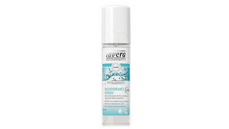 Desodorante Basis Sensitiv en spray de Lavera