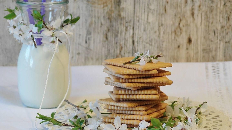 Las galletas tienen un alto contenido en grasas saturadas.