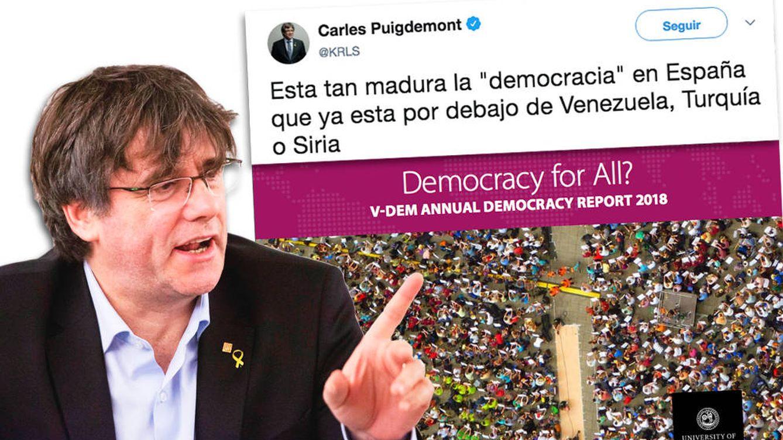 ¿España, peor que Venezuela? La verdad sobre el 'informe sueco' de Puigdemont
