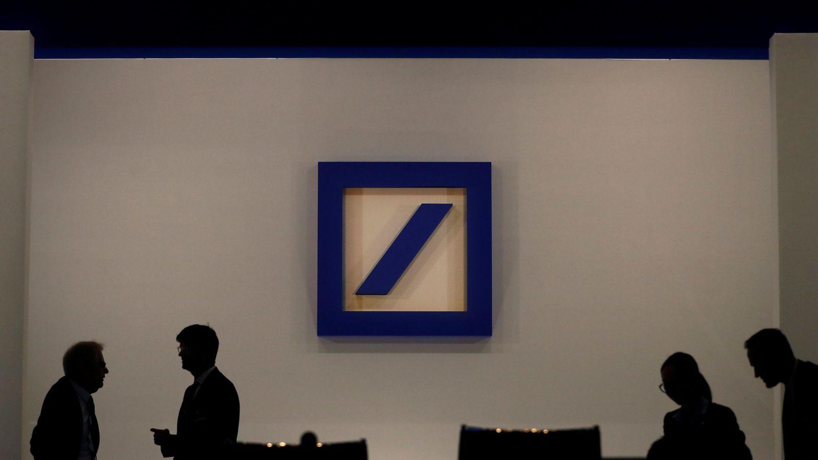 Foto: Logo de Deutsche Bank. (Reuters)