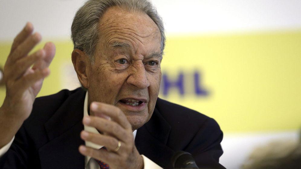 Foto: El presidente de OHL, Juan Miguel de Villar Mir (Efe)