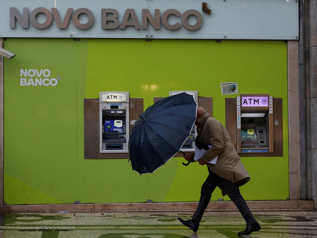 Foto: Oficina de Novo Banco. (Reuters)