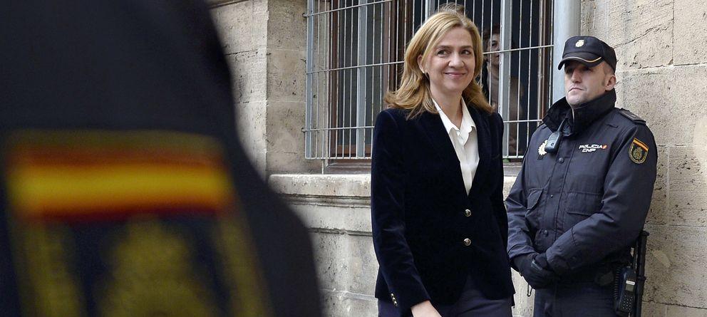 Foto: La infanta Cristina al declarar en el juzgado de Palma (Reuters)