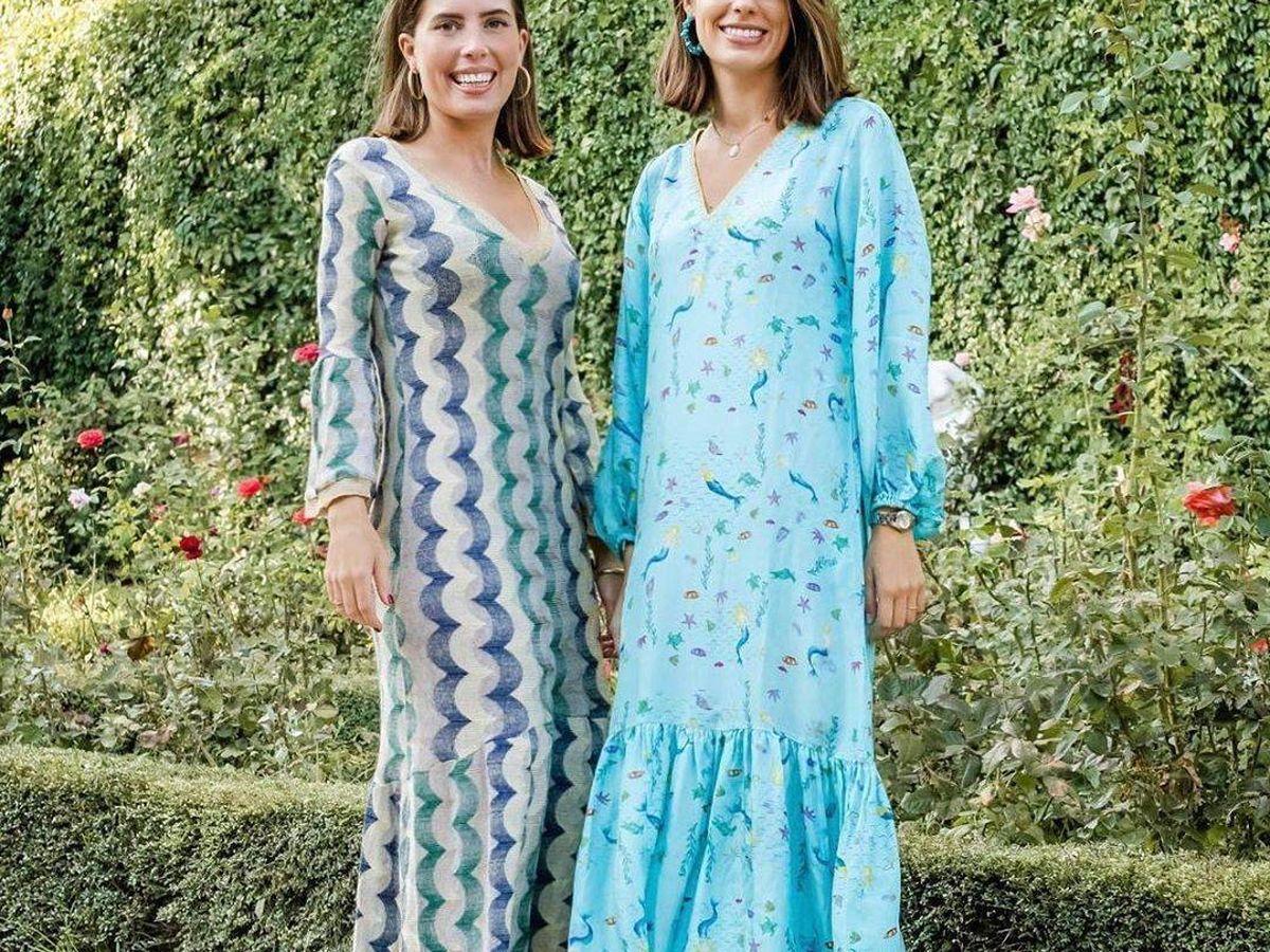 Foto: Blanca Barrera (Lady Aguacatte) y Sofía Palazuelo. (Redes)